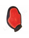 Guante de masaje / Almohaza color rojo