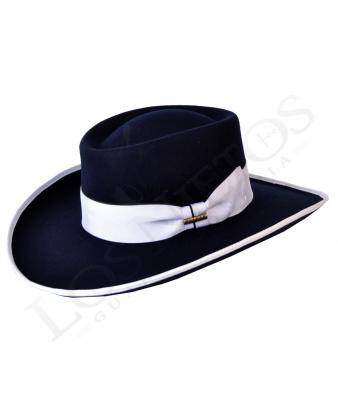Sombrero Gambler Lana Medio Lazo | Marino