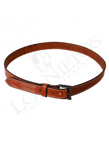 1c3acbbf0 Cinturón de cuero hecho a mano Ver más grande