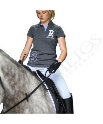 Polo Señora After Riding 'R' Equi Theme