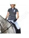 Polo Señora After Riding 'R' Equi Theme