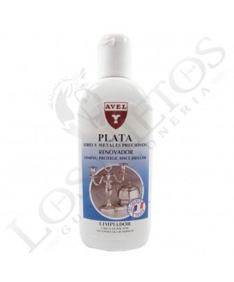 Limpiador-abrillantador para Plata, Oro y Metales Preciosos Avel Hispania 250 ml