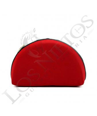 Bolso De Mano Stylopiel Abanico | Capote Rojo
