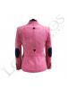 Chaqueta de lana de mujer | Espiga Rosa Cuadros