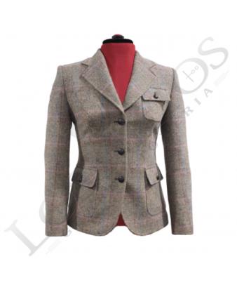 Chaqueta de lana de mujer | Espiga Beige