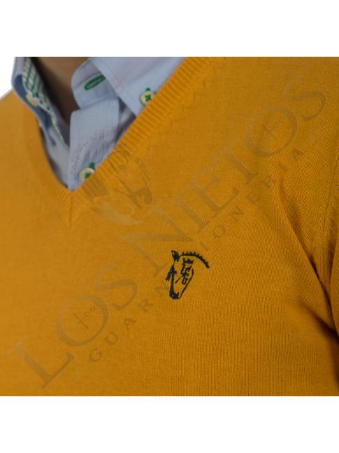 Jersey Punto Coderas 'La Garrocha' | Mostaza