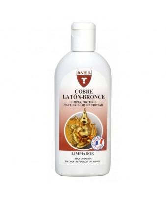 Limpiador-abrillantador para cobre y latón Avel Hispania 250 ml