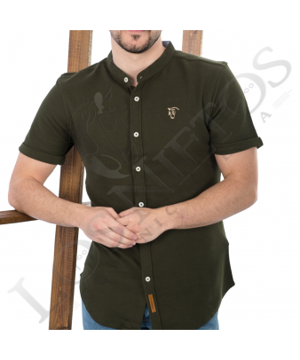Camisa Polo La Garrocha | Verde Caza