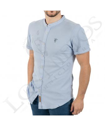 Camisa Polo La Garrocha | Celeste