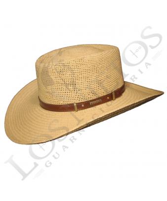 Sombrero Gambler Panamá Bricoc Gris C/Estribada
