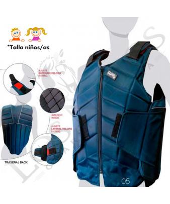 Chaleco Protector Body Homologado De Seguridad | Niños