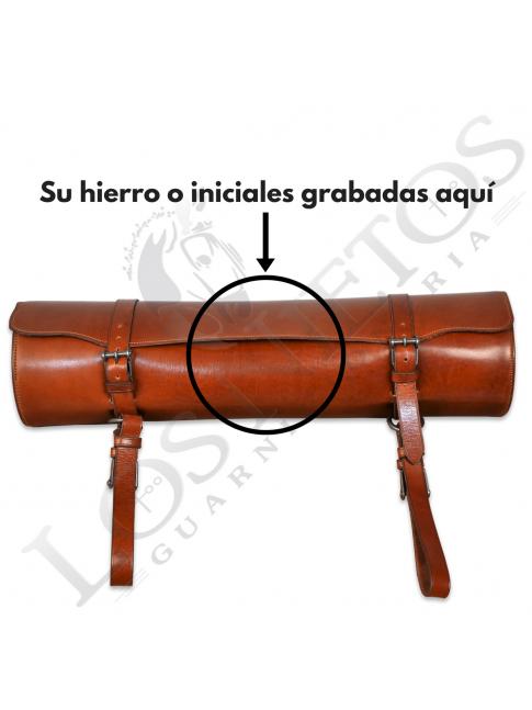 Portacapote Piel Los Nietos Hebillas Inoxidables | Personalizable