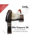 Silla Vaquera Zaldi 2G - TM System (Taco Muslera)