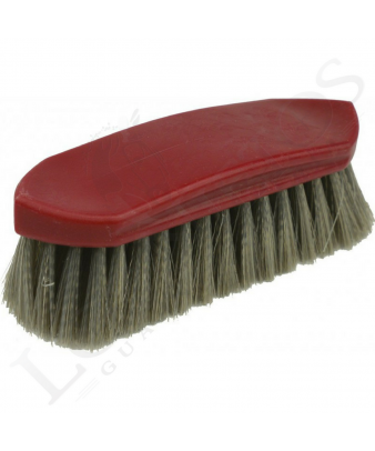 Cepillo Sueco Con Parte Superior de PVC - Burdeos/Gris