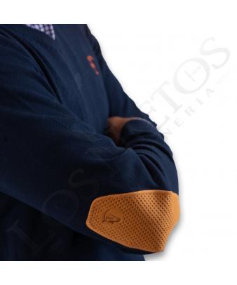 Jersey Cuello de Pico Con Coderas 'La Garrocha' | Yema