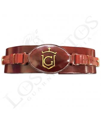 Cinturón 'Candelaria' Hebilla Personalizada | Hecho a Mano