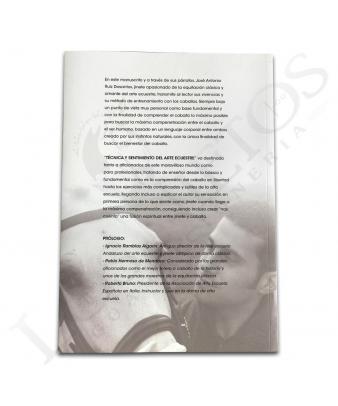 Libro 'Técnica y Sentimiento del Arte Ecuestre' | José Antonio Ruiz Dosantos