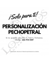 Personalización Cabezal