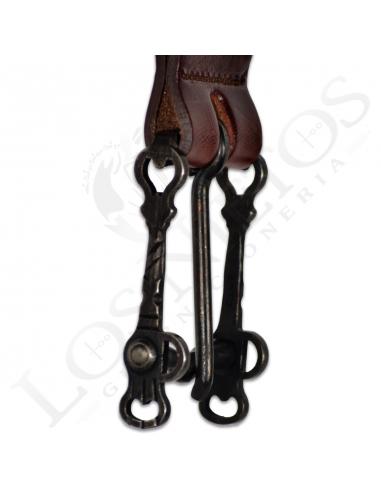 Cinturón Hebilla Bocado Vaquero Los Nietos | Hecho a Mano