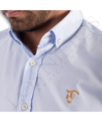 Camisa La Garrocha | 'Doma de Campo' Celeste