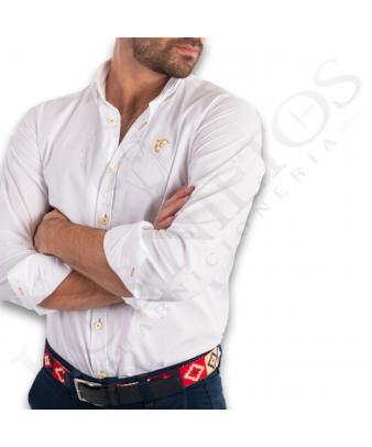 Camisa La Garrocha | 'Almonte' Blanca