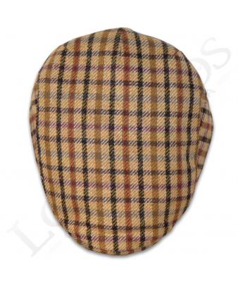 Gorra Inglesa | Mod. Bullet / 13736 Cuadro Amarillo