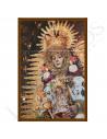 Cuadro Ecuestre Azulejo | Virgen del Rocío