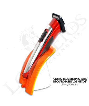 Cortapelos Profesional Mini Los Nietos Con Base Recargable