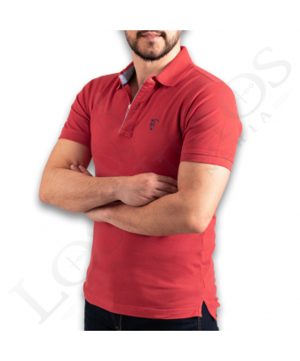 Polo Oxford La Garrocha | Carmin