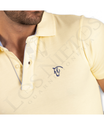 Polo Oxford La Garrocha | Amarillo