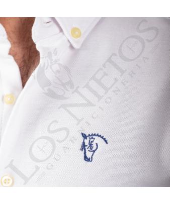 Camisa de Piqué La Garrocha | Blanco