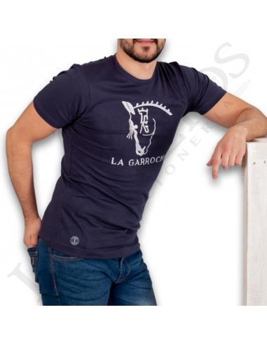 Camiseta Garrocha La Camiseta BásicaAzul Camiseta BásicaAzul Camiseta La La Garrocha BásicaAzul Garrocha OXZiTkuP