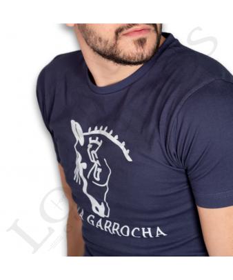Camiseta La Garrocha Básica | Azul