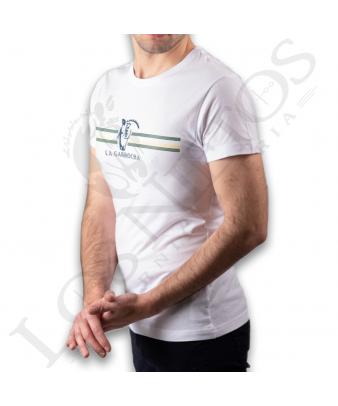 Camiseta La Garrocha Miradero | Blanco