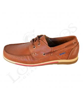 Zapato náutico Himalaya 2401 Color cuero
