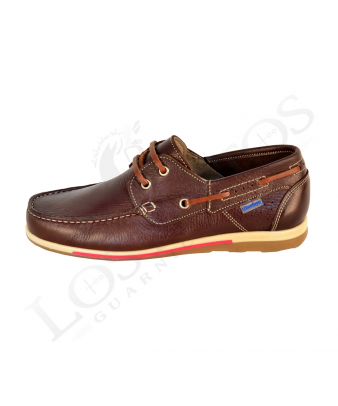 Zapato náutico Himalaya 2401 Color marrón