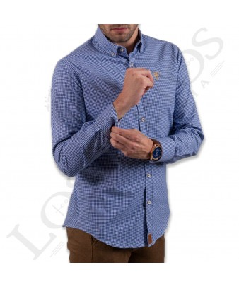 Camisa Nebro La Garrocha | Azul