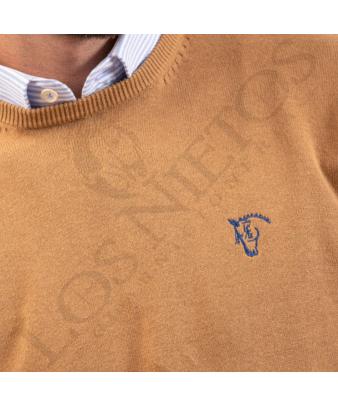 Jersey de Caja con Coderas 'La Garrocha' | Camel