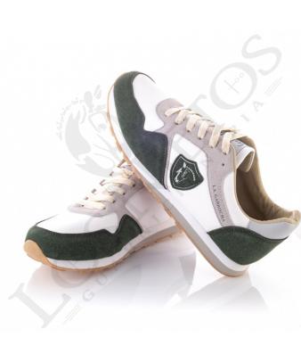 Zapatillas Prado, de 'La Garrocha' | Verde