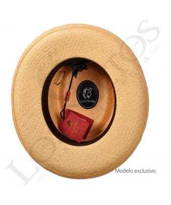Sombrero Gambler Panamá Bricoc Gris C/Puente