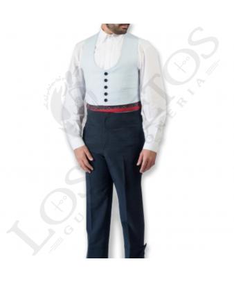 Traje de corto caballero | Pata de Gallo Celeste