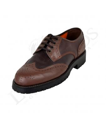 Zapato 1352 | Color Castaña / Piso Montaña