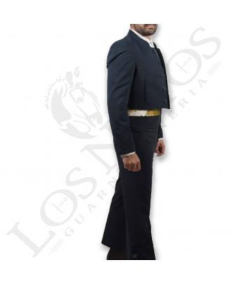 Traje de corto caballero | Sarga Bielástica Azul