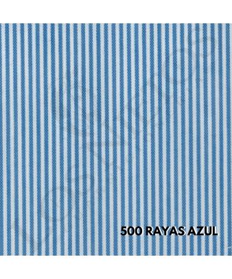 Chaleco Traje de Corto |500 Rayas Azul
