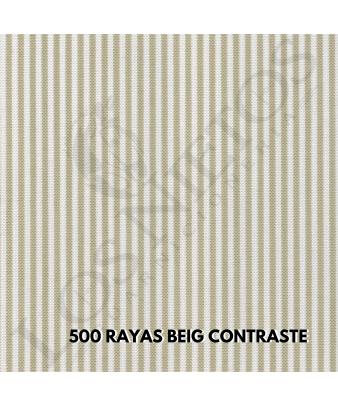 Chaleco Traje de Corto |500 Beige Contrastes