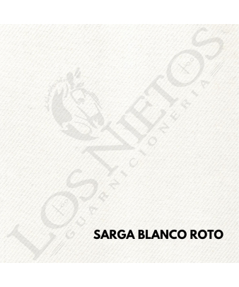 Chaleco Traje de Corto |Sarga Blanco Roto Contrastes