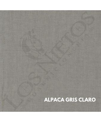Chaleco Traje de Corto |Alpaca Gris Claro Contrastes