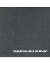 Chaleco Traje de Corto |Sarga Burdeos Contrastes