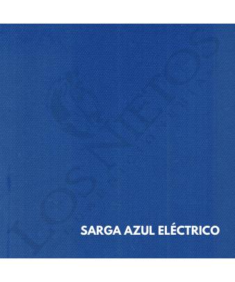 Chaleco Traje de Corto |Sarga Azul Eléctrico