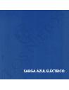 Chaleco Traje de Corto  Sarga Azul Eléctrico